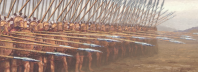 Whilst partially responsible for the success of Alexander against the hosts of Darius the Third, the phalanx originally evolved out of the need for a highly defensive, armored formation, used by Greek city-states making war upon one another. 的图标